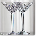 Waterford Huntley Martini, Pair