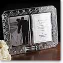 "Waterford Wedding 4 x 6"" Announcement Frame"