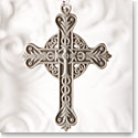 Wedgwood Figural Cross Grey Ornament