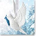 Wedgwood 2017 Figural Dove White Ornament