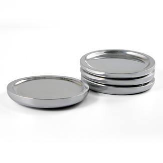 Nambe Metal Tilt Wine Coaster