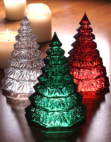 Waterford Christmas Tree Sculpture, Red