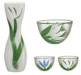 Kosta Boda Tulipa Bowl, White Tulip, Small