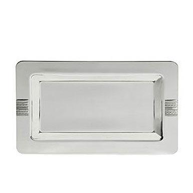 Wedgwood Vera Wang With Love Silver Vanity Tray