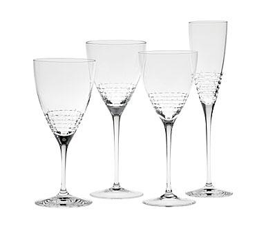 Vera wang wedgwood vera lace bouquet stemware - Vera wang martini glasses ...