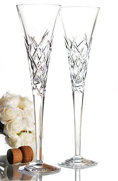 Vera wang wedgwood duchesse encore toasting flutes pair - Vera wang duchesse wine glasses ...