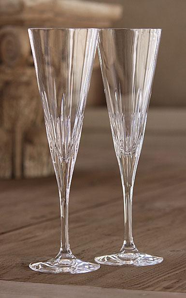 wedgwood vera wang duchesse toasting flutes  pair