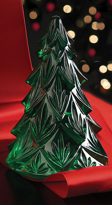 Waterford Green Christmas Tree Sculpture