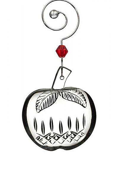 Waterford 2017 Lismore Mini Apple Ornament