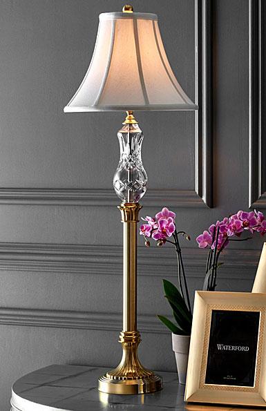 "Waterford Lismore Buffet 35 1/2"" Lamp"
