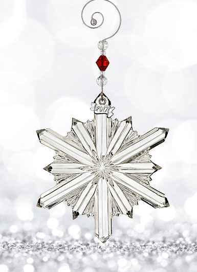 Waterford 2017 Annual Snowstar Ornament