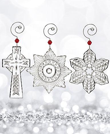 Waterford 2017 Mini Ornaments, Set of Three
