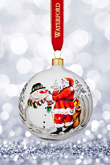 Waterford 2017 Holiday Heirloom Magic of Christmas Ball Ornament