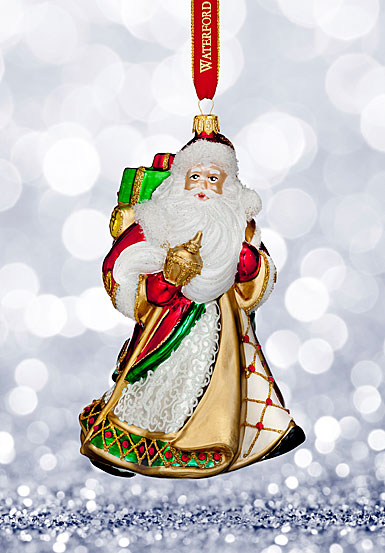 Waterford 2017 Holiday Heirloom Nostalgic Collection Miraculous Santa Ornament