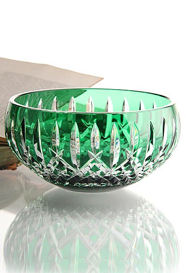 Waterford Araglin Prestige Emerald Green Bowl, 7in