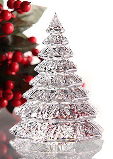 Waterford Christmas Tree Sculpture Clear
