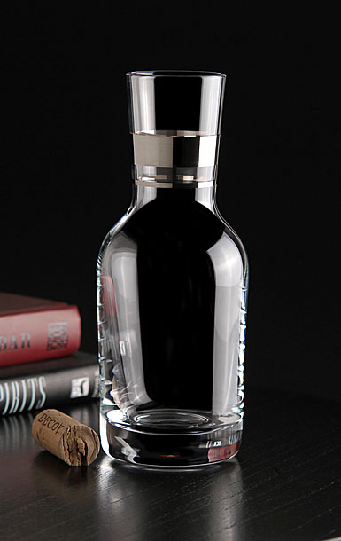 Waterford Elegance Individual Carafe With Platinum Band