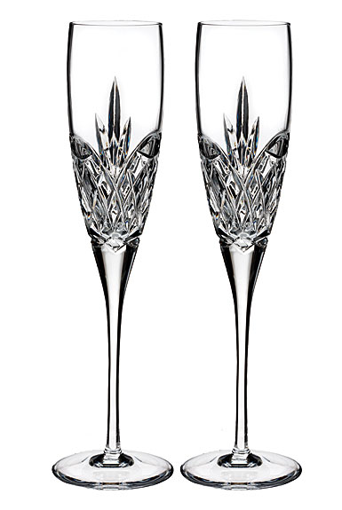Waterford Love Forever Flute, Pair