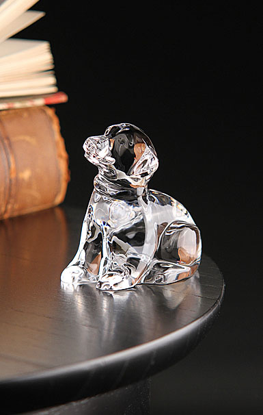 Waterford Lab Puppy Paperweight