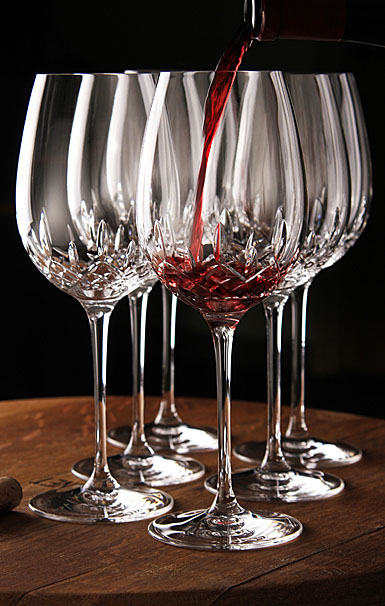 Waterford Lismore Essence Red Wine, Goblet, Pair