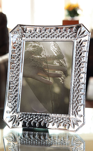 "Waterford Lismore 4x6"" Picture Frame"