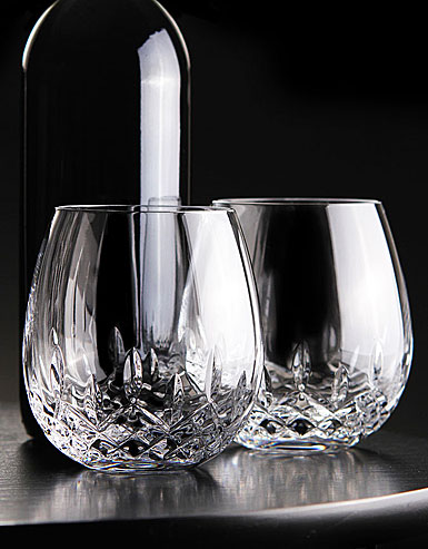 Waterford Lismore Nouveau Stemless Light Red Wine, Pair