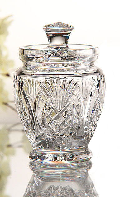 Waterford Pineapple Hospitality Sauce Jar with Spoon