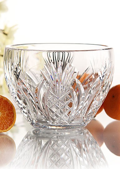 Waterford Pineapple Hospitality Bowl, 8in