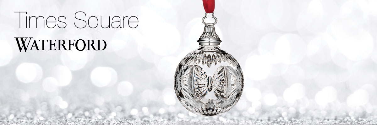 Waterford crystal times square collection - Waterford crystal swimming pool times ...