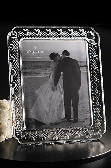 "Waterford Wedding Heirloom 8x10"" Picture Frame"
