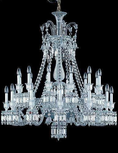 Baccarat Zenith Chandelier, 24 Light