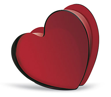 Baccarat Zinzin Hearts Ruby Small